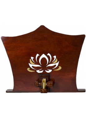 Adjustment desk back (Lotus mahogany)